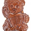 Gingerbread in the shape of a bear — Foto Stock