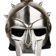 Iron Roman legionary helmet — Stock Photo