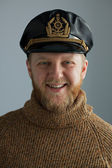 молодой моряк кап — Стоковое фото