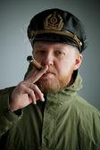 Sailor's cap and jacket — Foto Stock