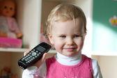 Het kleine meisje — Stockfoto