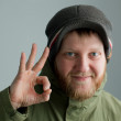 Man in a hat — Stock Photo #9089928