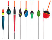 Set of floats for fishing — Stock Photo