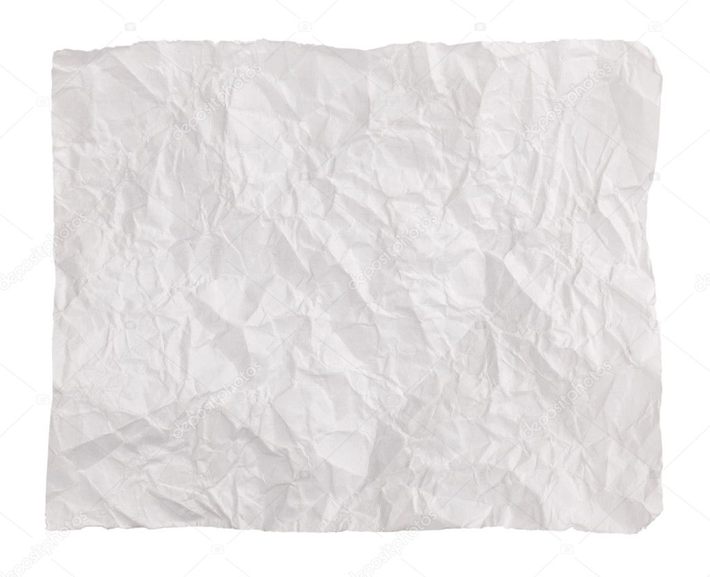 how to draw a crumpled piece of paper