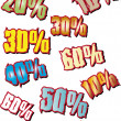 FOR DISCOUNTS — Stock Vector