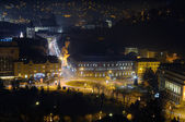 Brasov, night view — Stock Photo