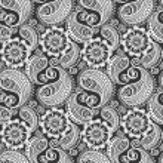 Seamless elegant paisley pattern — Stock Vector #10040516