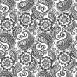 Seamless elegant paisley pattern — Stock Vector #10220229