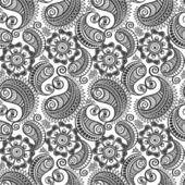Seamless elegant paisley pattern — Stock Vector