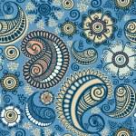 Seamless elegant paisley pattern — Stock Vector #10350233