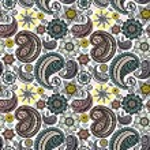 Seamless elegant paisley pattern — Stock Vector #10652929