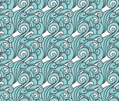 Seamless abstract wave pattern — Stockvektor