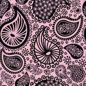 Abstrakta sömlösa doodle mönster — Stockvektor