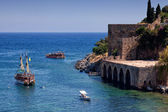 Ancient Tersane shipyard in Alanya (Turkey) — Stock Photo