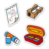 School and education objects — ストックベクタ