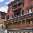 Buddhist Temple Inside Thikse Monastery — Stock Photo