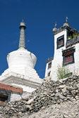 Tibetan Architecture in Ladakh — Stock Photo
