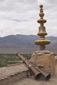 仏教の祈り角 — ストック写真