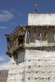 Derelict Buddhist Fort — Stock Photo