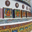Stock Photo: Shanti Stupa