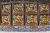 Decoration on Buddhist Stupa — Stock Photo