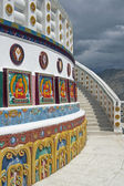 Ornate Stupa — Stock Photo