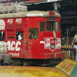 Calcutta Tram — Stock Photo