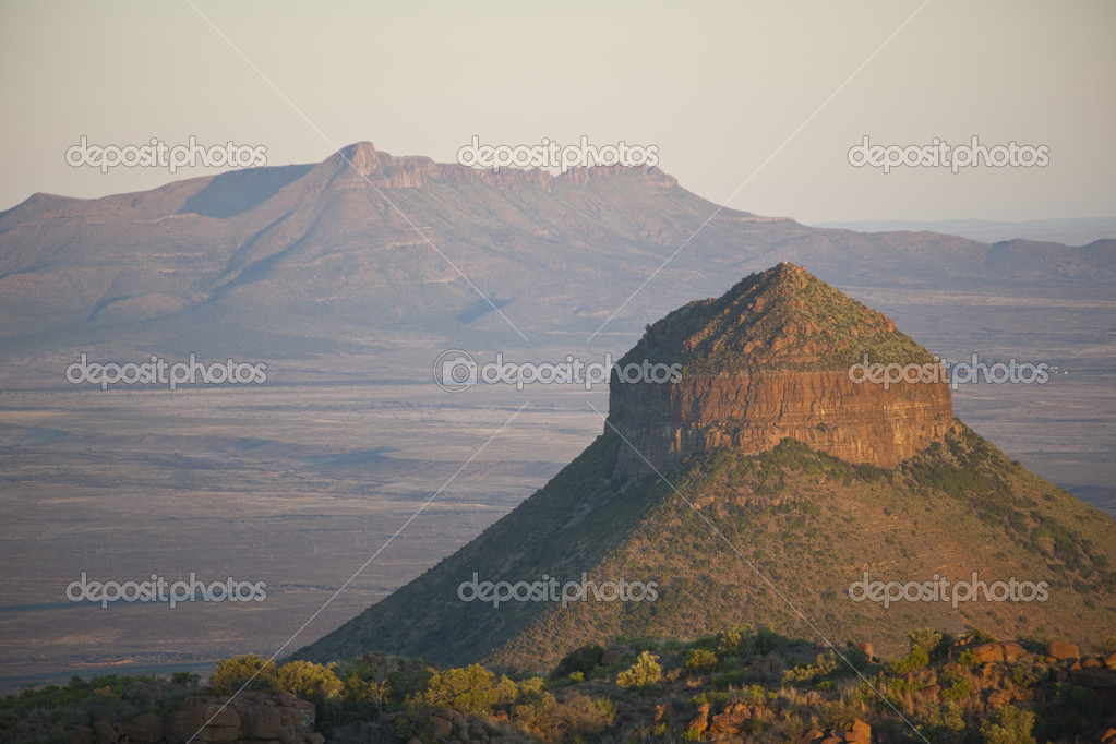 Valley of Desolation in Camdeboo National Park near Graaff-Reinet in the Eastern Cape of South Africa  Stock Photo #10302582