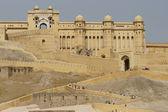 Amber fort girişi — Stok fotoğraf