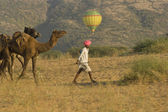 Balloon at the Pushkar Camel Fair — ストック写真
