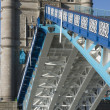 Stock Photo: Tower Bridge Open to Shipping