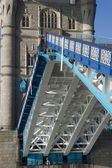 Tower Bridge Open to Shipping — Stock Photo