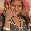 Bishnoi Woman — Stock Photo
