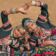 Tribal Dancers — Stock Photo