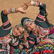 aşiret dansçılar — Stok fotoğraf