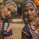 Rajasthani Tribal Dancers — Stock Photo
