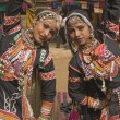 Rajasthani Tribal Dancers — 图库照片