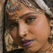 Portrait d'une danseuse du Rajasthan — Photo