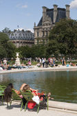 Summer Time in Paris — Stock Photo