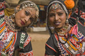 Rajasthani Tribal Dancers — Стоковое фото
