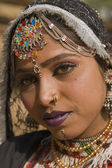 Portrait of a Rajasthani Dancer — Stok fotoğraf