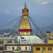 boudhanath buddhist stupa — Stock Photo #8012703