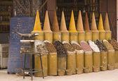 Krydda butik i marrakech — Stockfoto