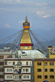 Boudhanath Buddhist Stupa — Stock Photo