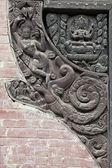 Temple Carving — Stock Photo