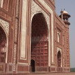 Islamic Architecture at the Taj Mahal - Foto de Stock