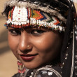 Rajasthani Gypsy Dancer — Stock Photo