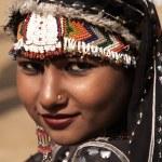 Rajasthani Gypsy Dancer — Stock Photo