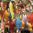 Colorful Tibetan Lanterns — Stock Photo