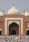 Islam at the Taj Mahal — Stock Photo